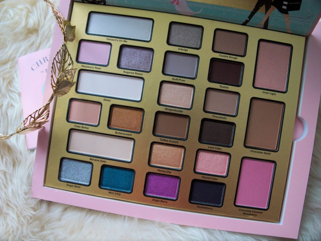 too faced the chocolate shop review + swatches