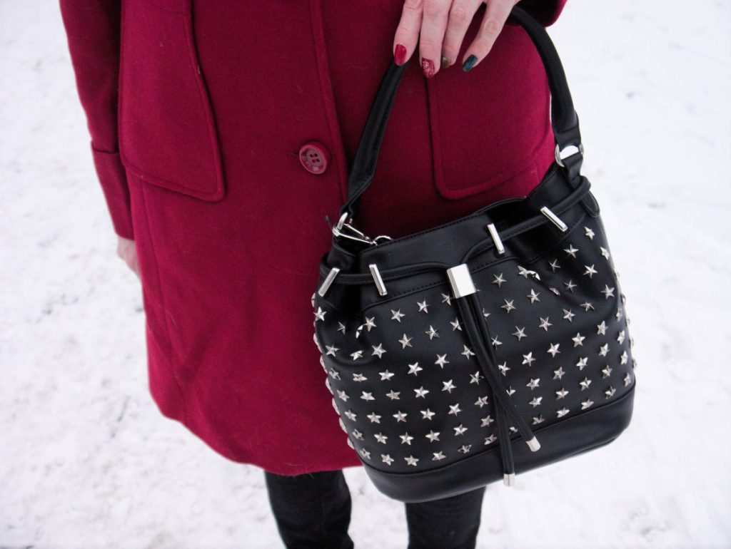star-studded bag