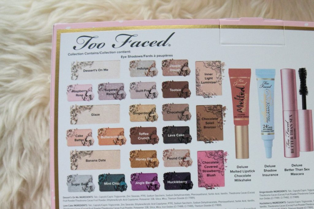 TooFaced The Chocolate Shop Palette