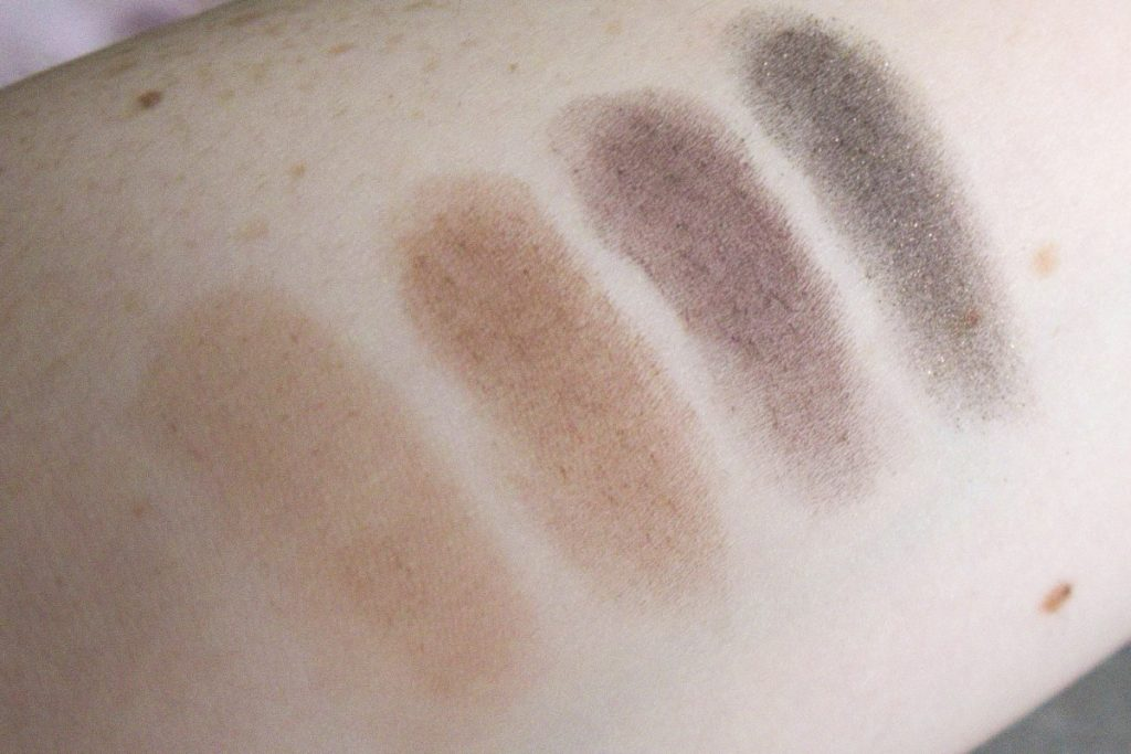 TooFaced The Chocolate Shop palette swatches