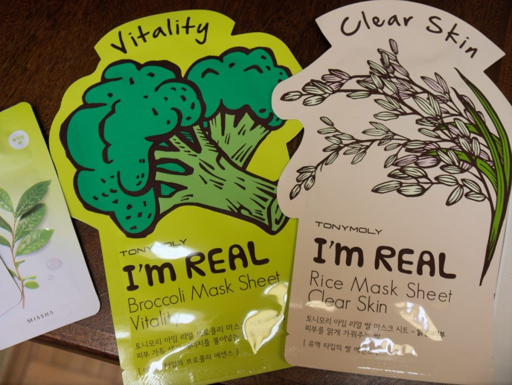 Korean Beauty masks