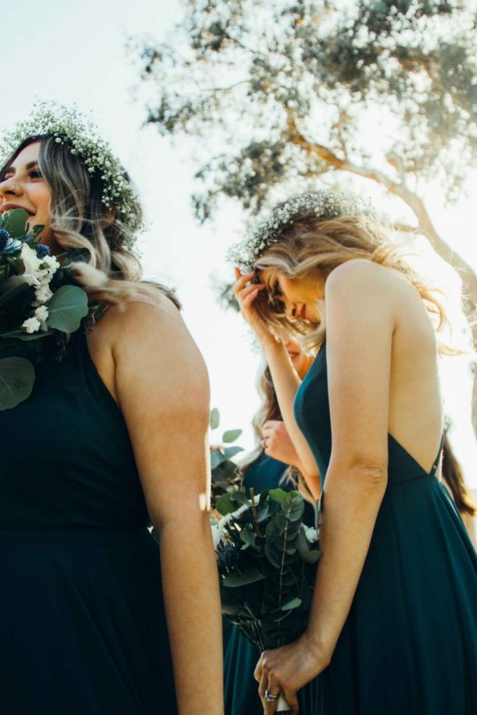 flower crowns and bridesmaids free stock photo by omar-lopez