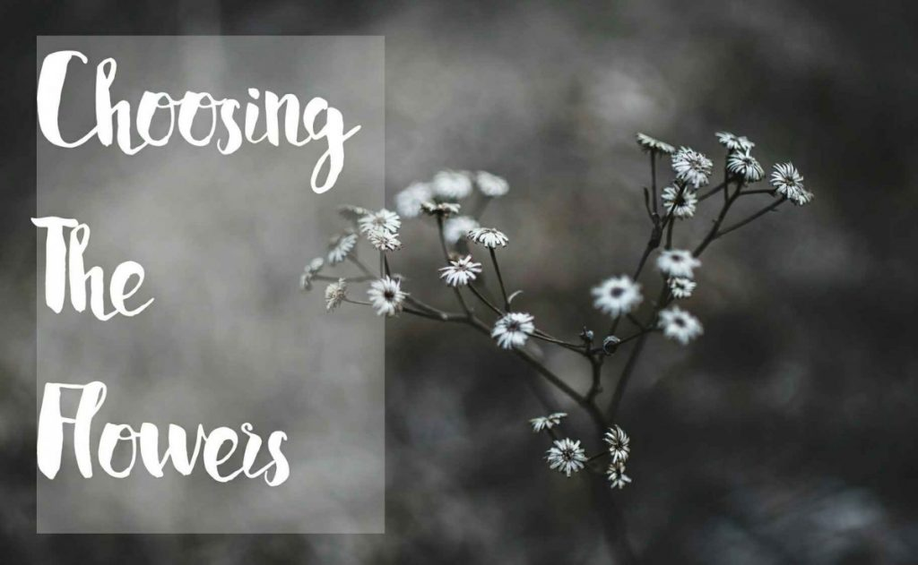 tips for choosing the wedding flowers