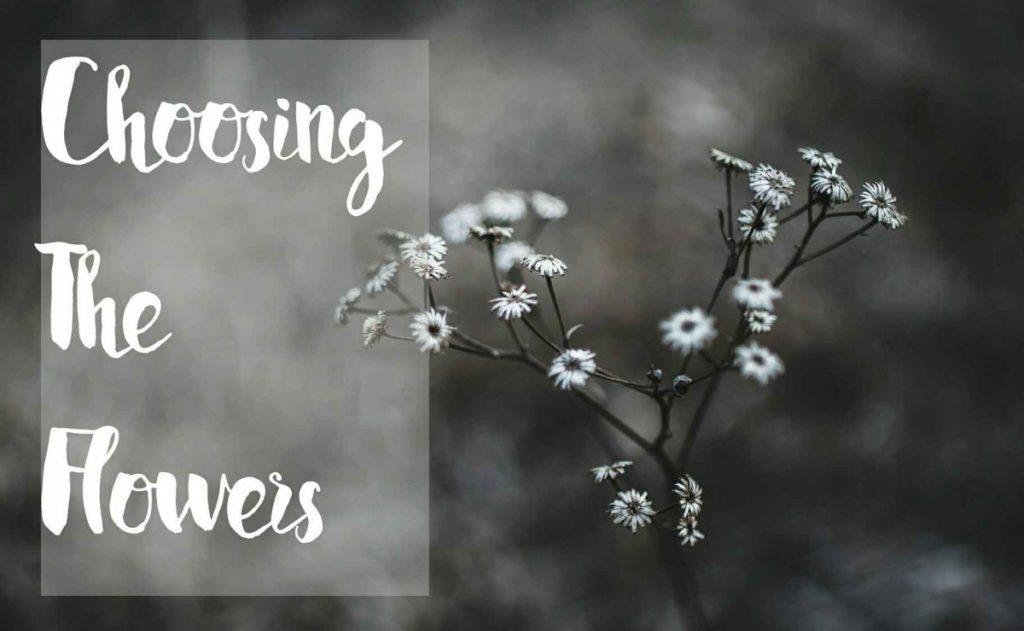 tips for choosing the wedding flowers